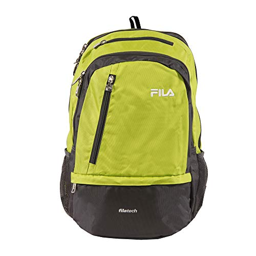 Fila Duel Tablet and Laptop Backpack, Lime Green (Lime Green Laptops)