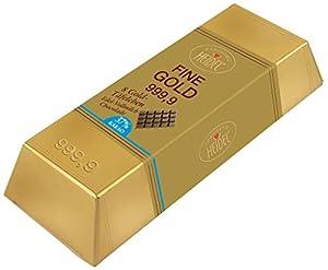Heidel - Großer Gold-Barren Vollmilch - 80g
