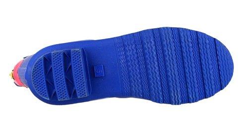 Cotswold Highgrove Damen-Stiefel mit Schnalle, Damen, mit Welly, Schuhe Blau