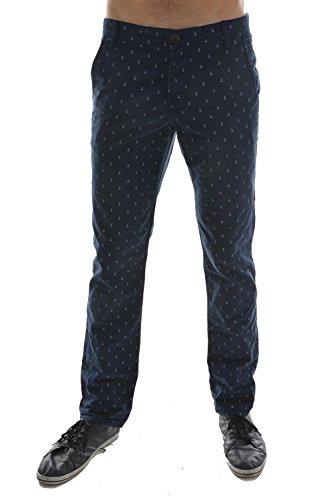 pantalons tom tailor 6401378 bleu