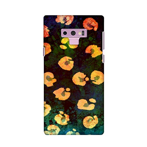 AMZER Ultra Slim Designer Hard Shell Case Protective Back Cover Skin for Samsung Galaxy Note 9 - Leopard - Organic Spots