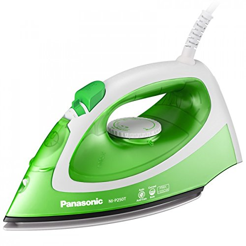 Panasonic NI-P250T 1550W Steam Iron, 220V (Non-USA Compliant) by Panasonic