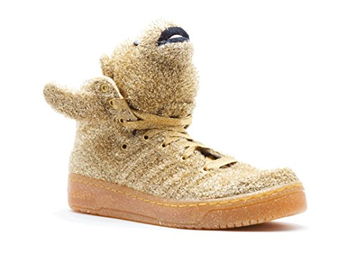 Adidas js bear chaussures mode sneakers homme or jeremy scott Adidas