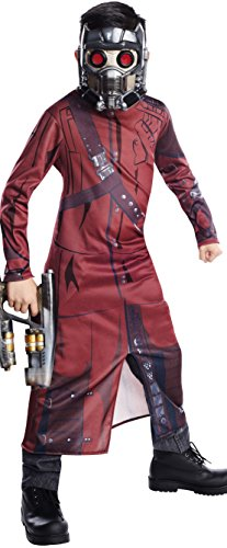 Tv Star Fancy Dress Costumes (Rubie's Guardians of The Galaxy Star-Lord Costume, Child Small)