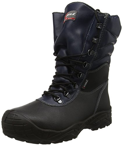 "Cofra 22120–000.w40Talla 40Reino Unido S3CI SRC–zapatos de seguridad de ""Camp–Negro"