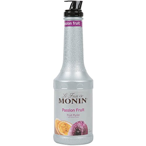Monin 1 Liter Passion Fruit Puree Pack of 4 by TableTop King