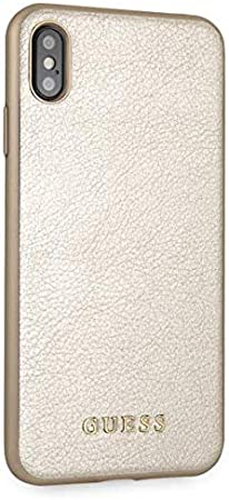 Guess Hard Case for iPhone XS Max Gold: Amazon.co.uk