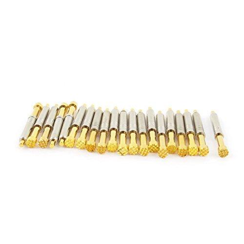 EbuyChX 20 Pcs PH-45H 5mm 12-Puntong Plum Tip Spring PCB ICT Testing Probes Pin