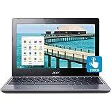 Acer C720p-2625 11.6' Touchscreen ChromeBook Intel Celeron 2955U Dual-core 1.40 GHz 4 GB RAM, 16 GB SSD, Chrome OS (Certified Refurbished)