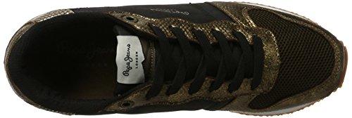 Timpano Donne miscelazione 849 Scarpe Jeans Grigio Pepe Oro twBxtFnrOq