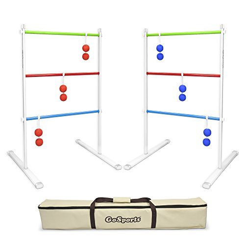 - GoSports Premium Metal Ladder Toss Game Set