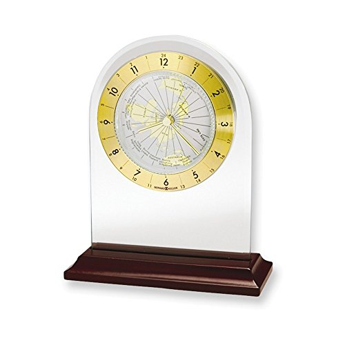 (Jewelry Adviser Gifts World Time Arch Table Clock)