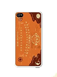 Ouiji Board Game Novelty Apple Iphone 5 Quality TPU Soft Rubber Case for Iphone 5/5s - AT&T Sprint Verizon - White Case