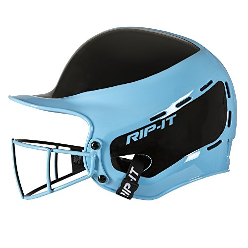 Rip-It Vision Pro Away Softball Batting Helmet (Away Light Blue, Extra Large) (Helmet Batting Pro)