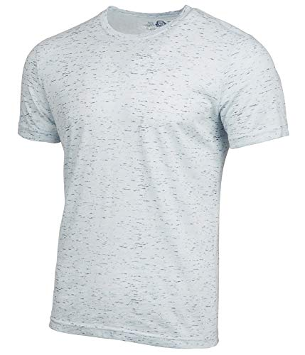 American Rag Mens Heathered Basic T-Shirt, Blue, XX-Large
