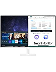 $219 » Samsung 27-Inch Class Monitor M5 Series - FHD Smart Monitor and Streaming TV (LS27AM501NNXZA, 2021 Model)