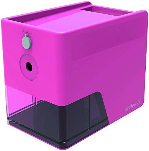 ナカバヤシ 電動鉛筆削り スリムトレータイプ ピンク DPS-601KP 【まとめ買い3個セット】