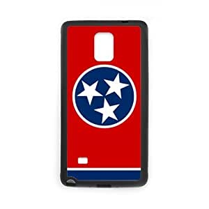 super shining day Tennessee State Flag Special Samsung Galaxy Note 4 TPU Material Durable Back Case