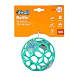 Bright Starts Oball Rattle Easy-Grasp Toy - Teal