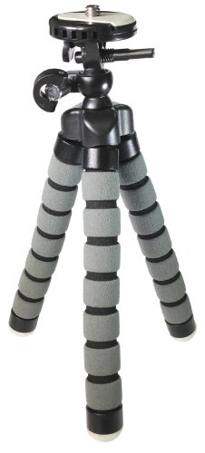 Canon PowerShot ELPH 130 IS Digital Camera Tripod Flexible Small Tripod - for Compact Digital Cameras and Camcorders - Approx 9'' H by VidPro
