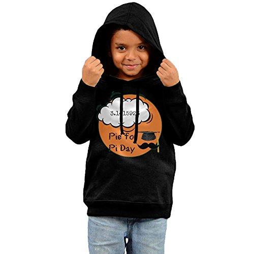 Toddler Pie For Pi Day Funny Vintage Hooded Sweatshirt Unisex (Hoodie Pi Kids Math)
