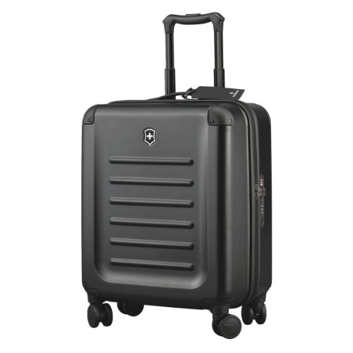 (Victorinox Spectra 2.0 Extra Capacity Carry-On Hardside Spinner Suitcase, 21-Inch, Black)