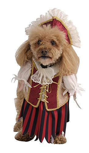 Rubie's Costume Co Pirate Queen Pet Costume, Large,