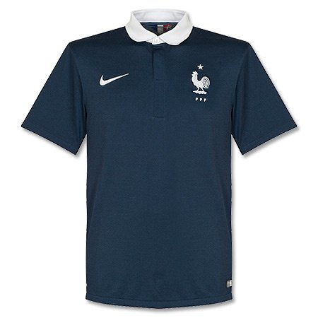 2014-15 France Home World Cup Football Shirt (Kids)