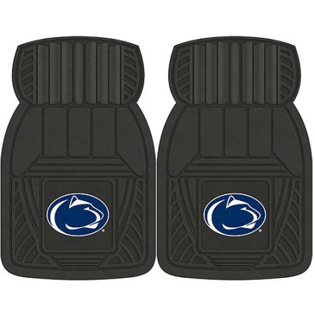 NCAA 4-Piece Front #36572580 and Rear #19888852 Heavy-Duty Vinyl Car Mat Set, Penn State by Sports Licensing Solutions LLC