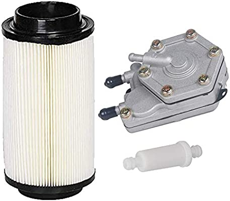 HIFROM Replacement Fuel Pump 2520227 3085275 Fuel Filter Air Filter for Polaris Sportsman 400 500 600 700 Magnum 326