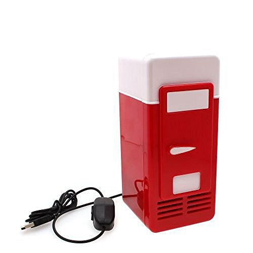 Generic Mini USB Fridge RED