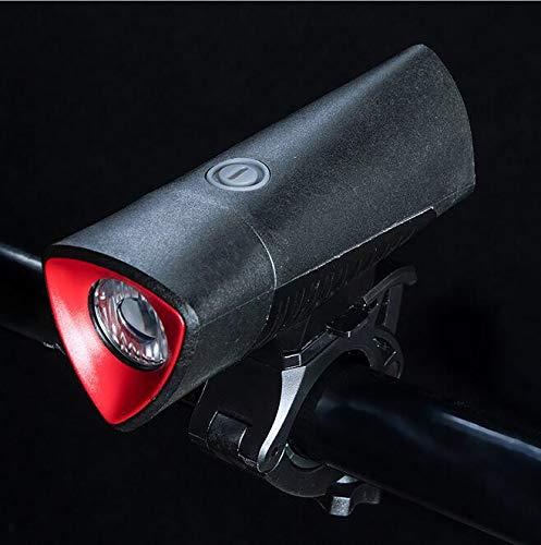 Shi18sport - Lámpara de Recargable para Bicicleta de Lámpara montaña c03746