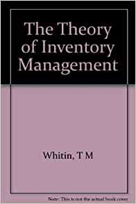 hypothesis on inventory management Inventory management apex auto ltd, executive summary g c t m industry in india has.