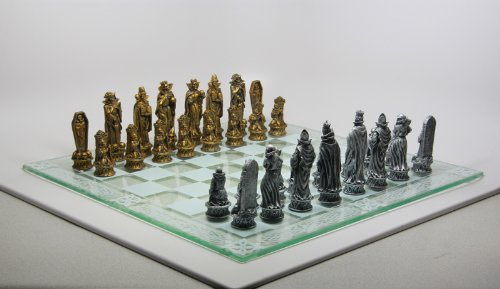 Skeleton Battle of Underworld Chess Set 383 Demon Skeleton
