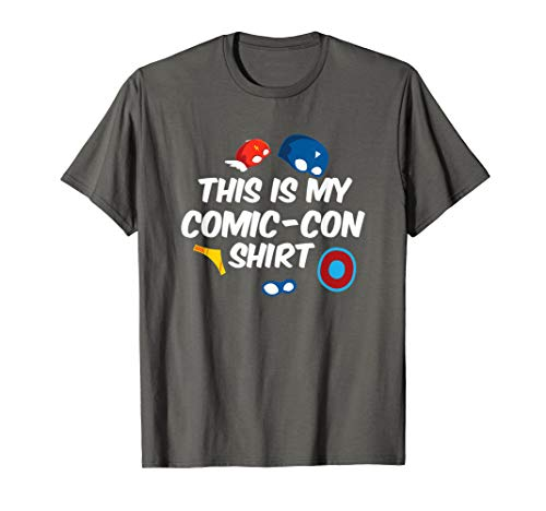 This Is My Comic-Con Shirt Comic Book Collector Funny -