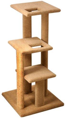 Pacific Pets Super Shelf Cat Tree : Color SPECKLED SAND, My Pet Supplies