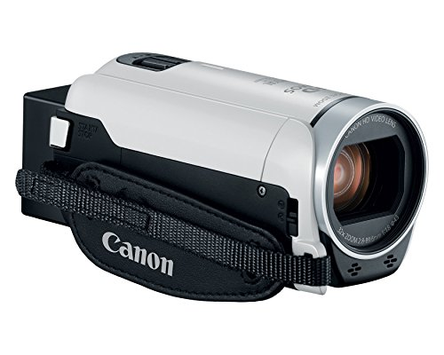 Canon VIXIA HF R800 Camcorder (White) (Renewed)