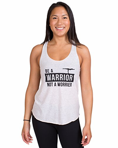 Inner Fire Be A Warrior Not A Worrier - Oatmeal - Women