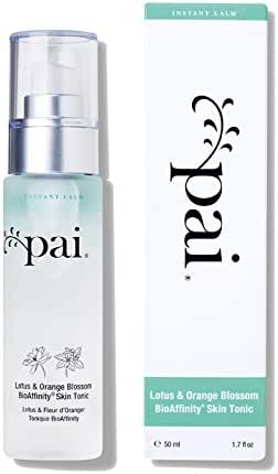 Pai Skincare Lotus & Orange Blossom Bio Affinity Tonic with Anti - Redness & Anti - Inflammatory effect for Sensitive Skin 50 ml