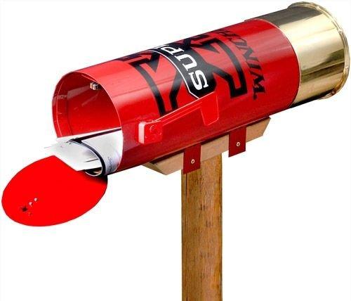 (Rockin W Brand Winchester W2001 Super-X Shotshell Mailbox)