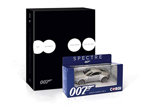 Ultimate James Bond Collection [Blu-ray] with Car