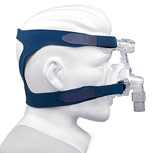 Headgear Replaces Universal Ultralight Comfort Gel Full Mask Replacement Part Breath Machine Head Band Fit for Respironics Resmed Resmart without Clips, Blue