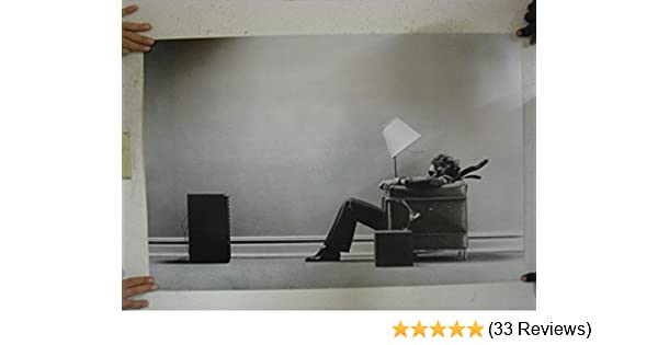 "Maxell Blown Away Speaker Ad Poster 16/"" x 24/"" USA SELLER Medium size"