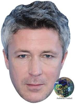 Card Face and Fancy Dress Mask Aidan Gillen Celebrity Mask