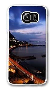 C Curve Custom Samsung Galaxy S6/Samsung S6 Case Cover Polycarbonate Transparent