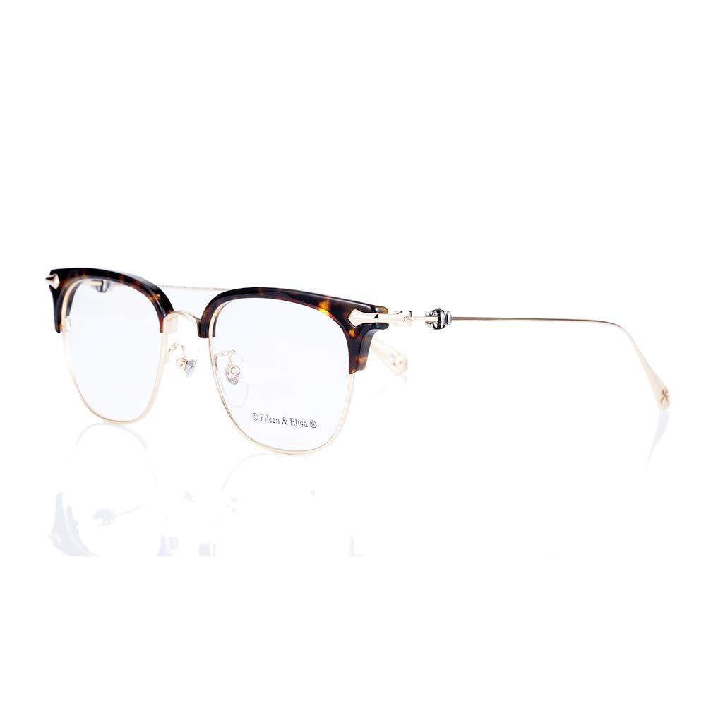 Computer Glasses- Anti Glare, Blue Light Blocker, Non-Polarized, for Low Vision & Eye Strain, Metal Frame, Rectangular Glass Frame