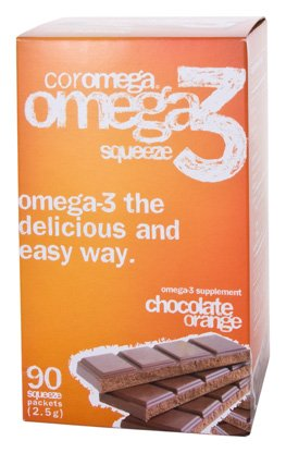 Orange Flavor Coromega - Coromega 90's Chocolate/Orange Flavor