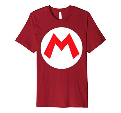 Nintendo Super Mario Icon Costume Premium T-Shirt -