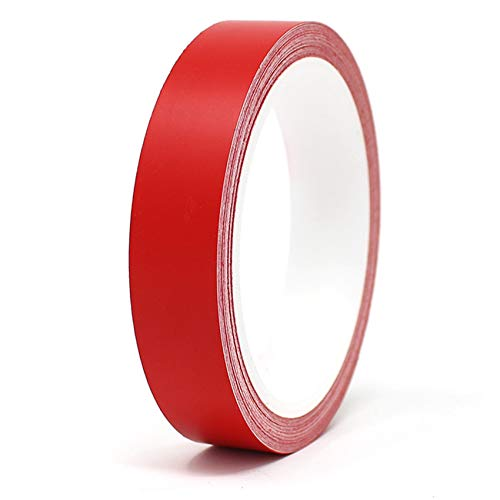 Finest Folia Oracal Vinyl Stripe Tape 751 Pinstripes Striping Sticker 33ft (Red Matt, 0,393