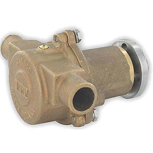 Image of Bilge Pumps Jabsco 18830-1020 Flange Mount Engine Cooling Pump Bronze Flexible Impeller 1' Boat Plumbing Item
